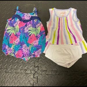 Baby girl 0-3 month outfits